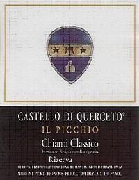 Castello di Querceto Chianti Classico Riserva Il Picchio